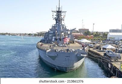 Battleship Iowa Images, Stock Photos & Vectors | Shutterstock