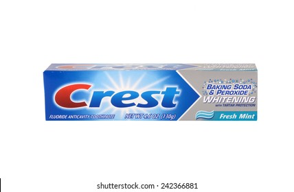 Los angeles,California Dec 10th 2014: Nice Image of Crest toothpaste