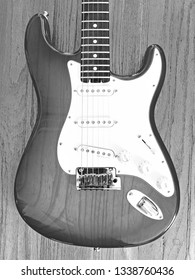 LOS ANGELES/CALIFORNIA - MARCH 13, 2019: Fender American Elite Series Stratocaster with Rosewood Fingerboard and Tobacco Sunburst finish. Los Angeles, California USA