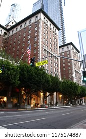 Los Angeles,CA/USA - October 27, 2013: Photo of Millennium biltmore Hotels ,this Hotel is Pershing Square in Los Angeles.