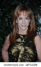 LOS ANGELES-JANUARY 9: Comedian Kathy Griffin arrives at Audi and Designer J. Mendel's Kick Off Celebration of Golden Globe Week 2011 at Cecconi's on January 9, 2011 in Los Angeles, California.