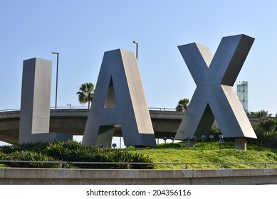 LOS ANGELESS - JULY 01: LAX Airport on July 01, 2014 in Los Angeles, California. Los Angeles International Airport is the 6th busiest in the world.