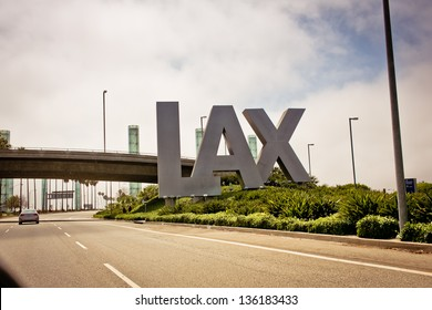 LOS ANGELESS - JULY 22: LAX Airport on July 22, 2012 in Los Angeles, California. Los Angeles International Airport is the 6th busiest in the world.