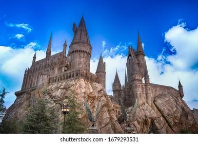 los angeles,usa - 12/26/2016 - the wrold of Harry Potter universal studio