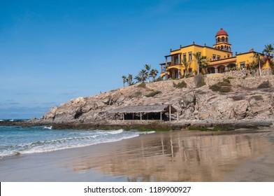 Los Cerritos Beach At Todos Santos, Baja California Sur. MEXICO