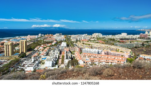 Los Cristianos - hill view