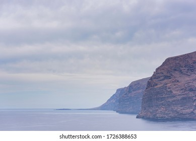 Los Gigantes, famous cliffs in Tenerife (Canary Islands, Spain).