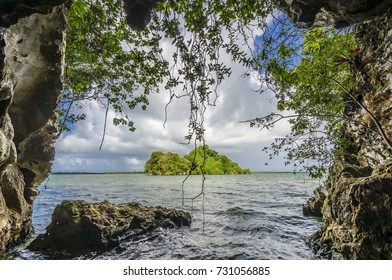Los Haitises National Park in Samana. Dominican Republic