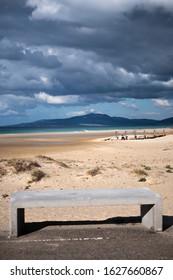 Los Lances beach on the coast of Tarifa
