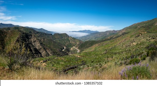 Los Padres National Forest, Highway 33, Ventura County, Ojai, California, USA