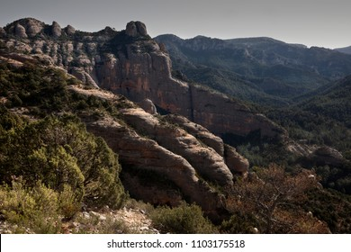 Los Ports mountains. Beceite. Spain
