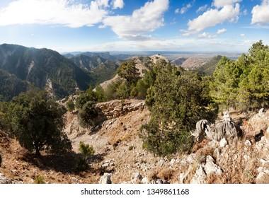 Los Ports mountains views. Tarragona province. Spain