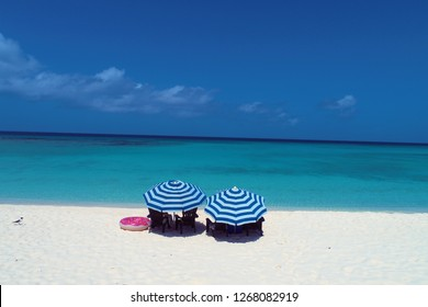 Los Roques, Caribbean Sea. Vacation in the blue sea and deserted islands. Peace and a dream. Fantastic landscape. Great beach view,