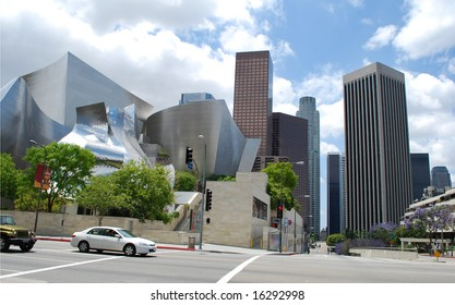 Los-Angeles downtown, California, USA