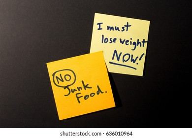 Lose weight note