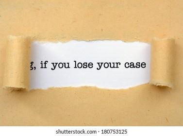 Imágenes, fotos de stock y vectores sobre Denied Case