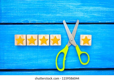 Loss of the fifth star. Unsuccessful business. Overview of hotel, cafe. deterioration of the rating and quality and status. a false assessment.The critic assesses the level of the restaurant