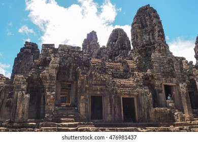The Lost City of Angkor Thom in Siem Reap, Cambodia