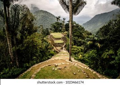 Lost city, Santa Marta Colombia