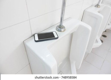 Lost Phone.Forget the phone in toilet.