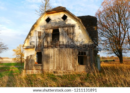 Lost Place Old Abandoned House Rural Stock Photo (Edit Now