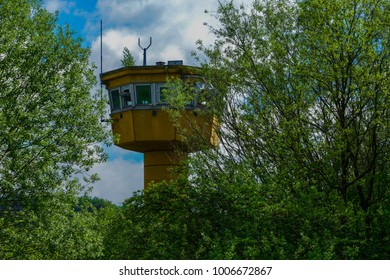 Lost place watchtower in Germany