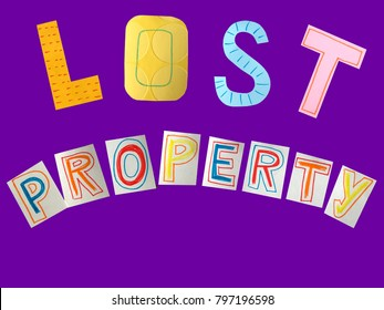 lost property concept words