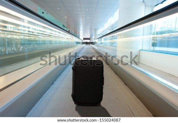 lost suitcase at the airport