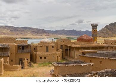 Lost town near Ili-River, Kazakhstan