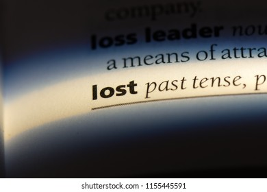 lost word in a dictionary. lost concept.