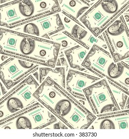 lots of 100 dollars bills