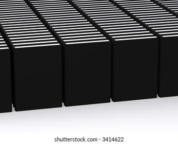 lots of black books