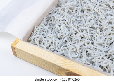 Lots of boiled whitebait