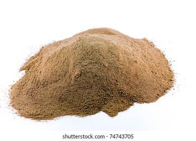 lots of chocolate powder