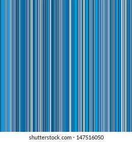 Lots of colorful stripes in blue pattern