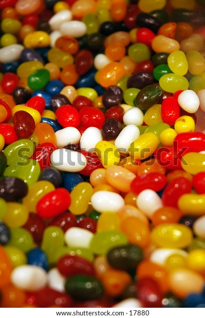 Lots of jelly beans