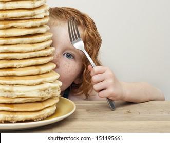 Lots of Pancakes!!