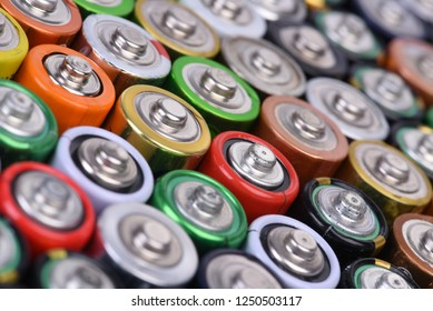 Lots of used aaa batteries