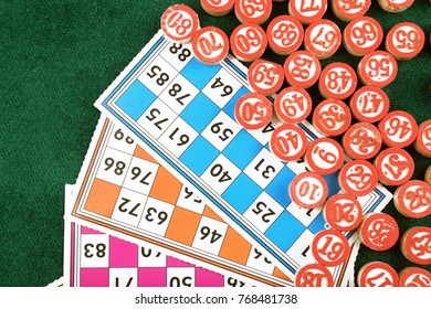 Lotto, lottery and christmas cards and games