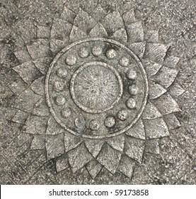 Lotus Flower- Stone carving