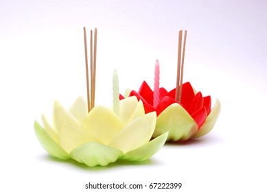 lotus hand made of Thailand