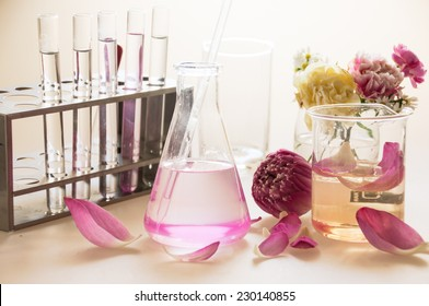 Lotus in laboratory for analytic