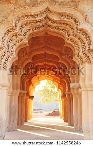Lotus Mahal Temple in