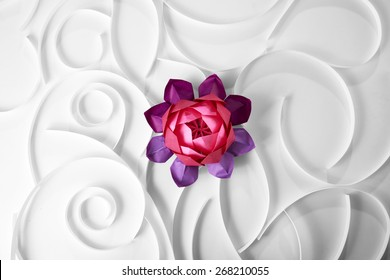Origami Lotus Stock Photos Images Photography Shutterstock