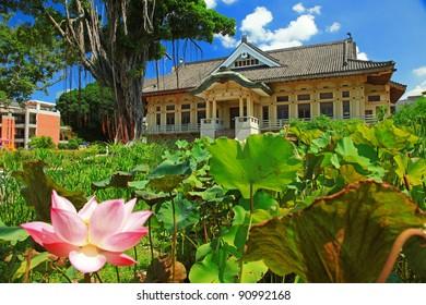Lotus & Tainan Bushido Hall in Summer