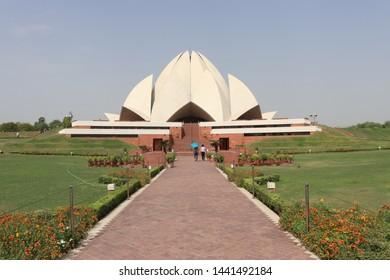 Lotus Temple - Bahai Temple, New Delhi India