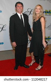 Lou Diamond Phillips and friend at the 17th Annual Night of 100 Stars Gala. Beverly Hills Hotel, Beverly Hills, CA. 02-25-06
