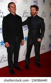 """Lou Taylor Pucci, Seth Green at """"The Story Of Luke"""" Los Angeles Premiere, Music Hall Theater, Beverly Hills, CA 04-02-13"""