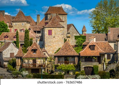 Loubressac most pictorial villages of france lot region, Europe