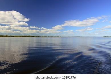 Lough Allen on the river Shannon, Ireland.